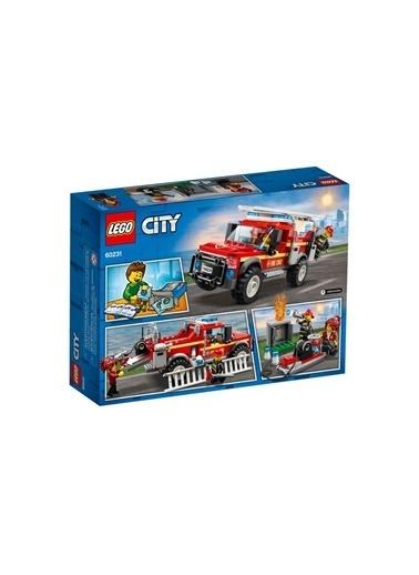 Lego LEGO City İtfaiye Şefi Müdahale Kamyonu Renkli